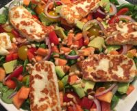 Try our colourful salad recipe - healthy and delicious