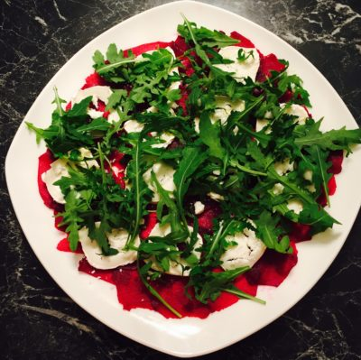 Embrace the beet and try our beetroot carpaccio and beetroot brownie recipe