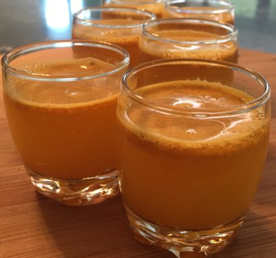 Try our turmeric tonic shot