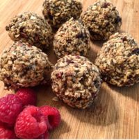 Try our energy balls a great pre-or post-workout snack or simply a healthier dessert.